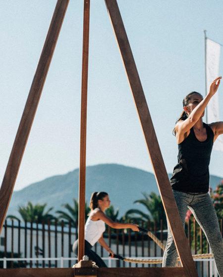 Porto Montenegro Yacht Club Outdoor Gym